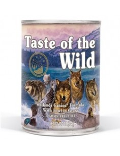 Taste of the Wild Wetlands Canine - Lata Pato, Codorniz y Pavo