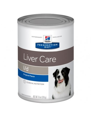 Hill's Lata Perro L/D - Cuidado Hepático - 370gr