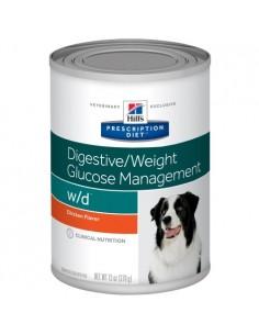 Hill's Lata w/d - Cuidado Digestivo - Peso - Glucosa - 370gr