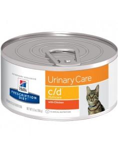 Hill's Lata Gato c/d - Cuidado Urinario - 156gr