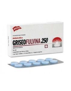 Griseofulvina 250 mg 20 comp - Holliday